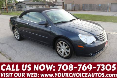 2008 Chrysler Sebring for sale at Your Choice Autos in Posen IL