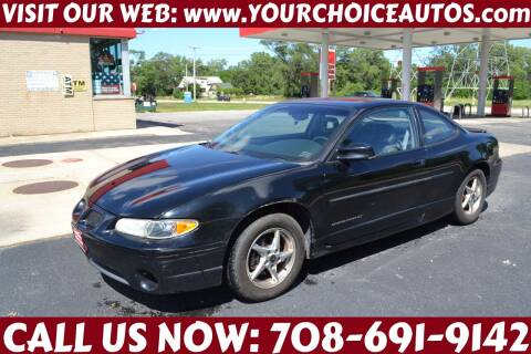 2002 Pontiac Grand Prix for sale at Your Choice Autos - Crestwood in Crestwood IL