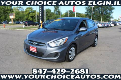 2017 Hyundai Accent for sale at Your Choice Autos - Elgin in Elgin IL