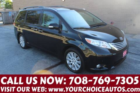 2014 Toyota Sienna for sale at Your Choice Autos in Posen IL