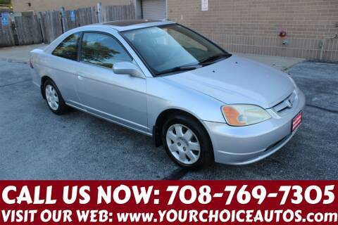 2001 Honda Civic for sale at Your Choice Autos in Posen IL