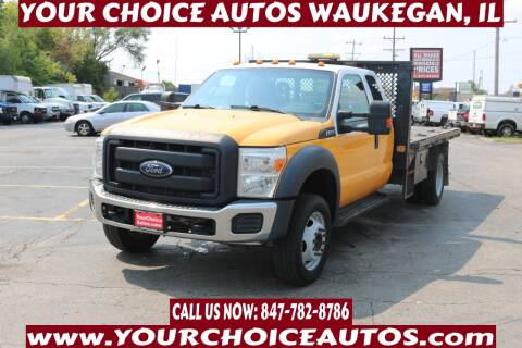 2015 Ford F-550 Super Duty for sale at Your Choice Autos - Waukegan in Waukegan IL