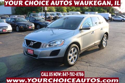 2013 Volvo XC60 for sale at Your Choice Autos - Waukegan in Waukegan IL