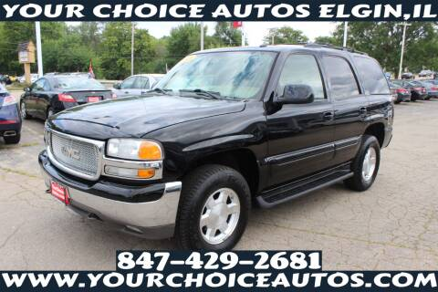 2005 GMC Yukon for sale at Your Choice Autos - Elgin in Elgin IL