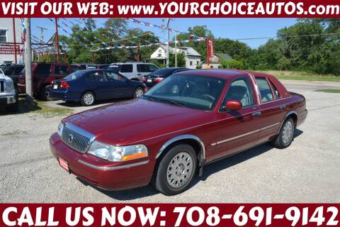 2003 Mercury Grand Marquis for sale at Your Choice Autos - Crestwood in Crestwood IL