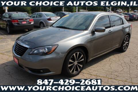 2013 Chrysler 200 for sale at Your Choice Autos - Elgin in Elgin IL