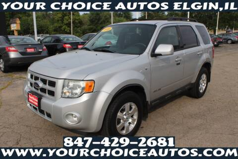2008 Ford Escape for sale at Your Choice Autos - Elgin in Elgin IL