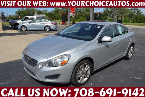 2012 Volvo S60 for sale at Your Choice Autos - Crestwood in Crestwood IL