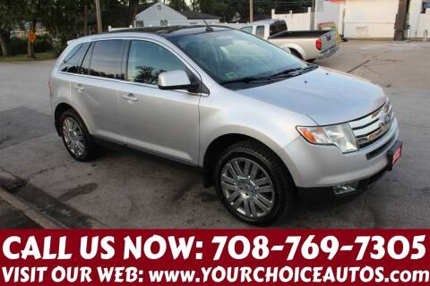 2010 Ford Edge for sale at Your Choice Autos in Posen IL