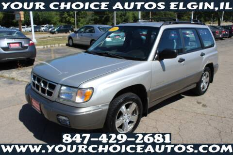 2000 Subaru Forester for sale at Your Choice Autos - Elgin in Elgin IL