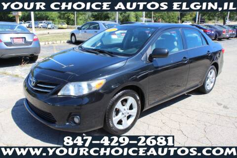 2013 Toyota Corolla for sale at Your Choice Autos - Elgin in Elgin IL
