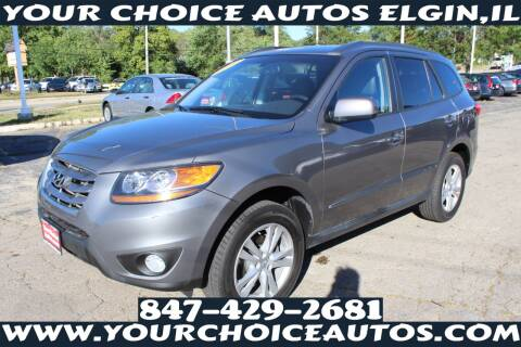 2010 Hyundai Santa Fe for sale at Your Choice Autos - Elgin in Elgin IL