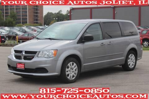 2014 Dodge Grand Caravan for sale at Your Choice Autos - Joliet in Joliet IL