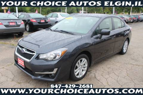 2015 Subaru Impreza for sale at Your Choice Autos - Elgin in Elgin IL