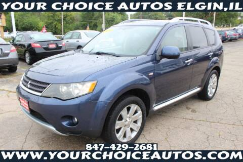 2009 Mitsubishi Outlander for sale at Your Choice Autos - Elgin in Elgin IL