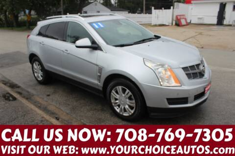 2011 Cadillac SRX for sale at Your Choice Autos in Posen IL