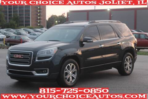 2013 GMC Acadia for sale at Your Choice Autos - Joliet in Joliet IL