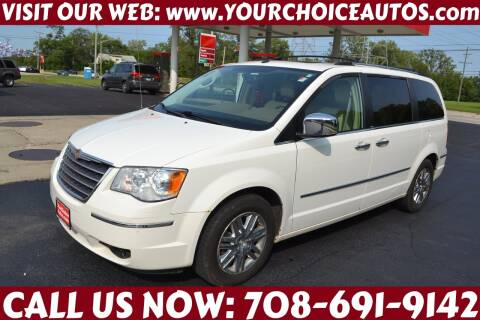 2008 Chrysler Town and Country for sale at Your Choice Autos - Crestwood in Crestwood IL