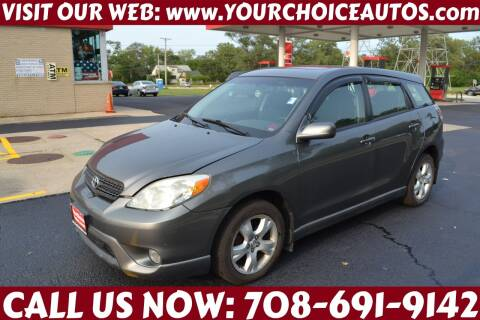 2005 Toyota Matrix for sale at Your Choice Autos - Crestwood in Crestwood IL