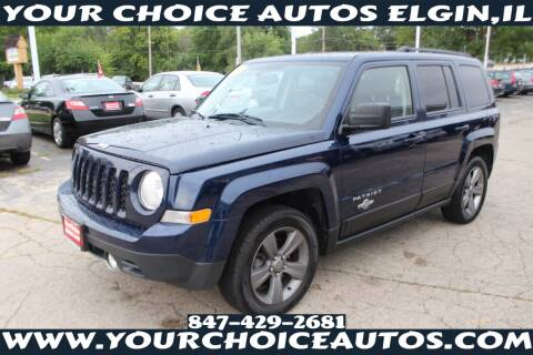 2014 Jeep Patriot for sale at Your Choice Autos - Elgin in Elgin IL