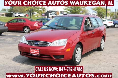 2005 Ford Focus for sale at Your Choice Autos - Waukegan in Waukegan IL