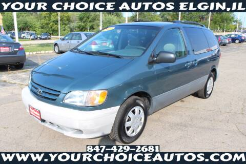 2003 Toyota Sienna for sale at Your Choice Autos - Elgin in Elgin IL
