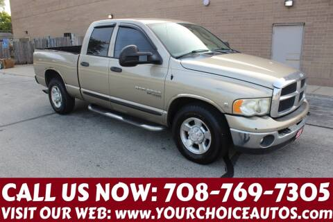 2005 Dodge Ram Pickup 2500 for sale at Your Choice Autos in Posen IL