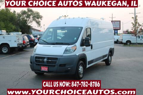 2015 RAM ProMaster Cargo for sale at Your Choice Autos - Waukegan in Waukegan IL