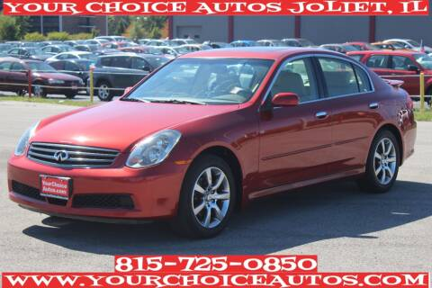 2005 Infiniti G35 for sale at Your Choice Autos - Joliet in Joliet IL