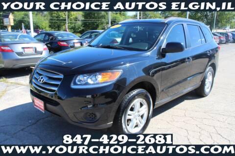 2012 Hyundai Santa Fe for sale at Your Choice Autos - Elgin in Elgin IL