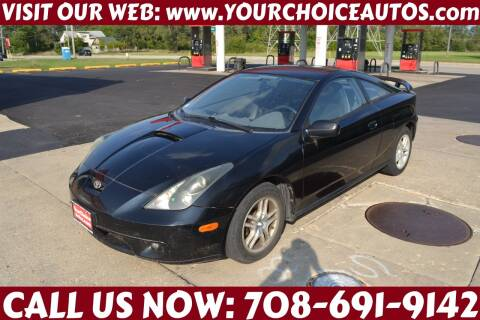 2001 Toyota Celica for sale at Your Choice Autos - Crestwood in Crestwood IL
