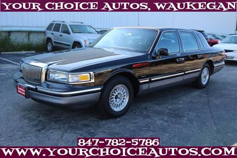 1995 Lincoln Town Car for sale in Waukegan, IL