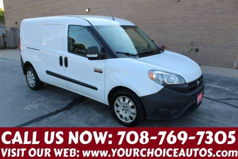 2015 RAM ProMaster City Cargo for sale at Your Choice Autos in Posen IL