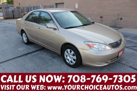 2002 Toyota Camry for sale at Your Choice Autos in Posen IL