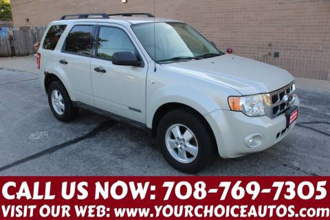 2008 Ford Escape for sale at Your Choice Autos in Posen IL