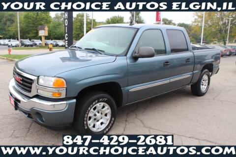 2006 GMC Sierra 1500 for sale at Your Choice Autos - Elgin in Elgin IL