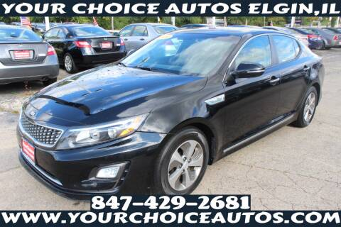 2014 Kia Optima Hybrid for sale at Your Choice Autos - Elgin in Elgin IL