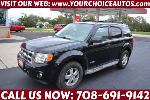 2008 Ford Escape for sale at Your Choice Autos - Crestwood in Crestwood IL