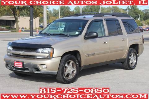 2004 Chevrolet TrailBlazer EXT for sale at Your Choice Autos - Joliet in Joliet IL