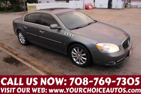 2006 Buick Lucerne for sale at Your Choice Autos in Posen IL
