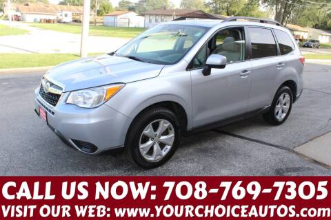2015 Subaru Forester for sale at Your Choice Autos in Posen IL