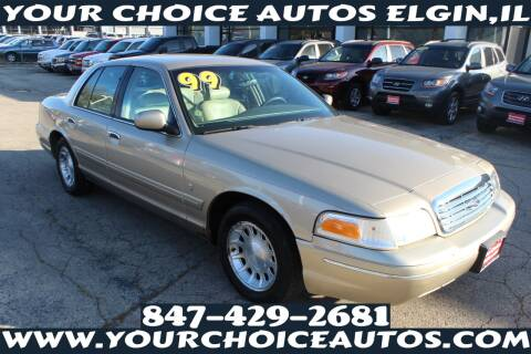 1999 Ford Crown Victoria for sale at Your Choice Autos - Elgin in Elgin IL