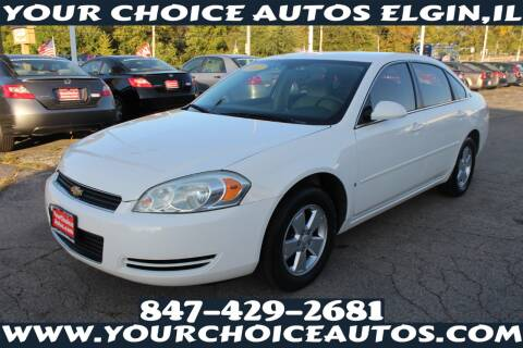 2007 Chevrolet Impala for sale at Your Choice Autos - Elgin in Elgin IL