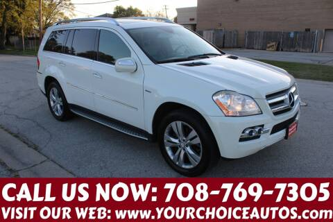 2010 Mercedes-Benz GL-Class for sale at Your Choice Autos in Posen IL
