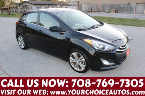 2013 Hyundai Elantra GT for sale at Your Choice Autos in Posen IL