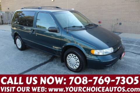 1998 Nissan Quest for sale at Your Choice Autos in Posen IL