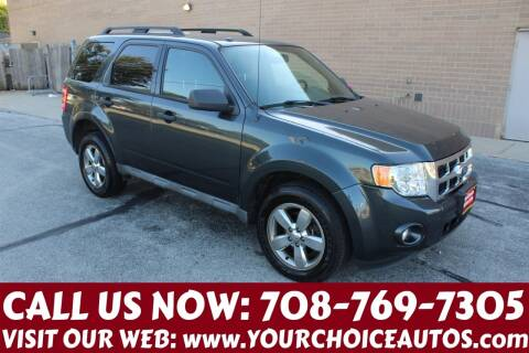 2009 Ford Escape for sale at Your Choice Autos in Posen IL