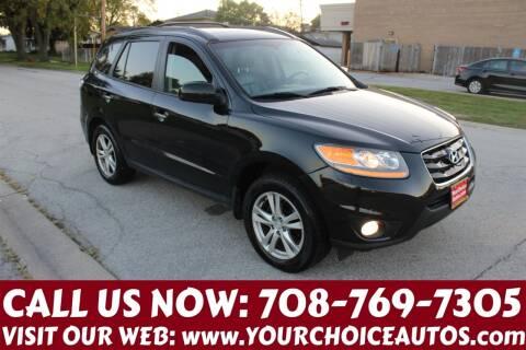 2011 Hyundai Santa Fe for sale at Your Choice Autos in Posen IL