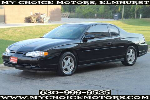 2003 Chevrolet Monte Carlo for sale at Your Choice Autos - My Choice Motors in Elmhurst IL