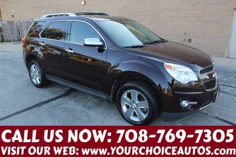 2011 Chevrolet Equinox for sale at Your Choice Autos in Posen IL